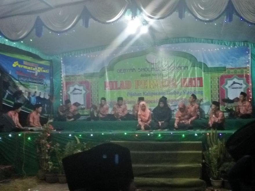 Image : Kesenian Kosidah dan Rebana Dusun Nglengkong